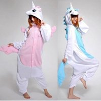 arrival halloween costumes - New Arrival Winter Kawaii Anime Hoodie Pajamas Cosplay Adult Onesie Christmas Unicorn Pajama Costume Unicorn Onesie
