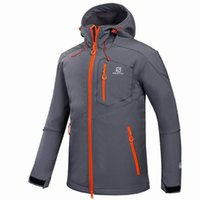 Wholesale 2016 Windstopper GTX Brand Softshell Outdoor Mens Waterproof Hiking Jackets For Mountain Camping Ski Hunting Clothes Rain Jacket