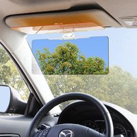 Wholesale 2016 NEW Day and Night Visor Car Sun Visor HD Vision Visor Anti Dazzle Mirror Clear View for Driver Auto Accessories