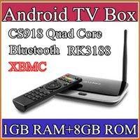 Wholesale 50PCS xbmc installed Bluetooth Version EKB311 MK888B CS918 quad core android tv box Android GB GB RK3188 nm Cortex A9 mini pc TV