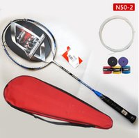Wholesale New Arrival Lining N50 II Lin Dan N50 Badminton Racket With a Big Bag Hot selling