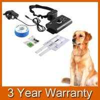 Wholesale Waterproof Electronic Fence Dog Shock Collar Fencing System For Small Med Dogs order lt no track