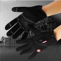 Wholesale 5colors Pair Windproof Outdoor Sports Gloves Tactical Mittens for Men Women Winter Warm Bicycle Cycling Motorcycle Hiking Skiing Glove