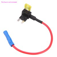 Wholesale 2 Add A Circuit Fuse Tap Piggy Back Micro Fuse Holder APS ATT Mini Low Profile