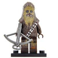 Wholesale Star Wars Minifigures Han Solo Finn Rey Chewbacca The Force Awakens Building Blocks Set Model Figures Toys
