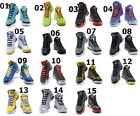 Wholesale 2015 All Colore Christmas White Blue Yellow Black Men Brand Stephen Curry One Basketball Shoes
