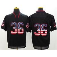 Cheap USA Flag Football Jerseys Best Black Shadow Jerseys