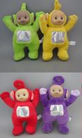 Wholesale Retail one set set Teletubby Plush Toy Doll Teletubbies quot Laa Tinky Winky Plush toy