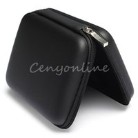 Wholesale Hot Sale Classic Black Hard Carry Case Cover Pouch for USB External WD HDD Hard Disk Drive Protect Protector Bag Enclosure order lt no t