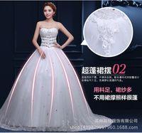 beaded business training - D73 Increase women s wedding dress business attire fashion wedding clothing lace mesh Satin support new custom