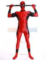 Wholesale Newest Strong Deadpool Costume fullbody superhero costume stager performance cosplay costume