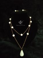 Wholesale women zirconia sliver layer necklace
