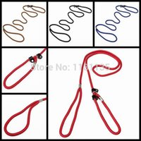 Wholesale cm Pet Dog Walking Lead Training Leash Slip Strap Traction Rope Collar Adjustabel