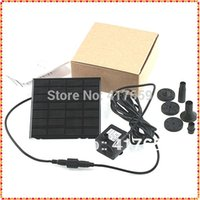 Wholesale 1set Solar Power Fountain Pool Water Pump Garden Plants Sun plants watering outdoor Dropshipping