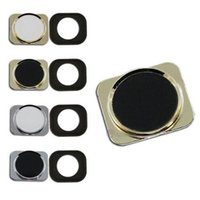 Wholesale 10pcs Fashion Home Button For iPhone G Metal Home Button S Like Style Replacement Return Key Keypad Repair Parts