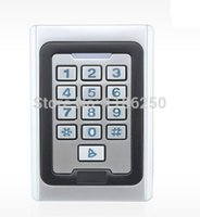 Wholesale Free ship Door Access Control Waterproof Metal Case Access Controller RFID Reader with Keypad