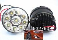 Wholesale 2X LED Vehicle Car DRL Driving Daytime Running Day LED Fog Light Head Lamp order lt no track