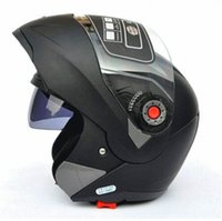 Wholesale Safe Flip Up Motorcycle Helmet With Inner Sun Visor Everybody Affordable JIEKAI