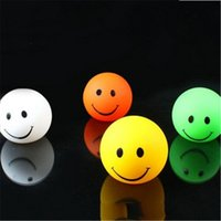 applied bearing - 6 cm Color changeable smiling face night lights LED flashing lamp apply to household coffee shop or beer bar