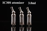 Cheap Sale !!!3.0ml Itaste iclear30s Atomizer Replaceable Duil Coil Clearomizer Iclear 30s Atomizer for EGO Electronic Cigarette