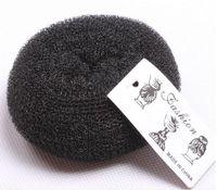 bun maker - Donut Bun Maker for Girls Black Doughnut Shaped Hair Ring Easy and Quick Maneuverability sizes