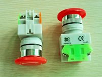 Wholesale NEW PanlongIC Emergency Stop Switch Push Button Mushroom Pushbutton Switches with Industry Standard Quality