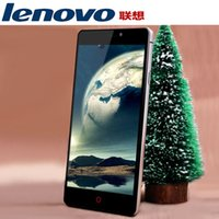 Wholesale Original lenovo a808 Max G RAM MTK6592 Octa Core MP quot dual SIM Android mobile cell phones