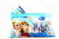 Wholesale Kids learning items Frozen stationery set for Students children stationery Frozen Pencil Cases chool Supplies Frozen Ruler Frozen Pencils