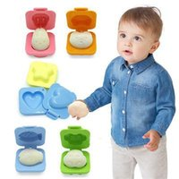 Wholesale 2015 New Cute Boiled Egg Mold Bento Maker Cutter Decorating Egg Tools