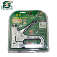 Wholesale Brand Fujiwara Heavy Duty Nail Gun Shooter Stapler Gun Feeding Device Type Nail Doornail U Straight Nail