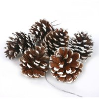 pine cones - 6Pcs Pinecone Pine Cones Vintage Bauble Christmas Tree Hanging Ornament Home Party Decoration Festival Supplies