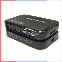 hdd media player - 1080P Full HD media player H6W decodes Android tv box USB HDD Media Player HDMI VGA MKV H Miracast