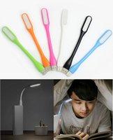 Pas cher Mini USB flexibles portables Lampe 6 couleurs LED pour le clavier Xiaomi Banque d'alimentation d'ordinateur portable PC portable lecture