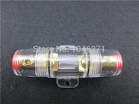 anl fuse holders - GA IN GA OUT Gold Plated Auto Car ANL AFS Fuse Holder Auto Car Fuse Holder Sheath For Car Electronic