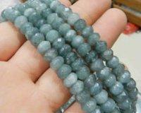 Wholesale 5x8mm Faceted Brazilian Aquamarine Gem Loose Beads quot