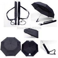 Wholesale Super Classic Military Quality Emblem Oversize Automatic Dual Folding Double Layers Men Man Windproof Personalized Umbrella