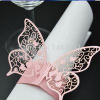 Cheap laser cut wedding decoration excellent silver wedding table filigree laser cut silver paper napkin rings