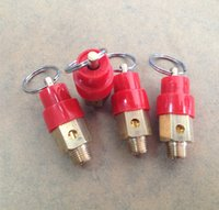 Wholesale 50pcs Mpa quot brass safety valves shipping to Indonesia