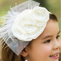 big beautiful hair - Big Floral Beautiful Kids Girl Headbands Charming Formal Hair Accessories Beaded Crystal Pageant Party Head Pieces Children Birthday Party