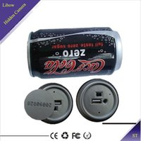 Wholesale New GB gb Hidden Camcorder Cola Pinhole Spy Camera Video Recorder Remote spycam DV DVR recording ST