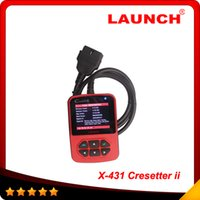Code Reader auto color code - 2014 Top Rated Newest auto oil lamp reset tool original ONLINE UPDATE color LCD display Launch CResetter II Free shippin