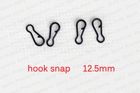Wholesale Black Double Fishing Hook Snap B Type Fishing Terminal Tackle Equipment