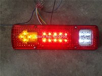 agricultural trailers - 2 x V LED Running Turn Tail Reverse Indicator Light Lamp Truck Trailer Boat Caravan Modified Agricultural Taillight Vehicles order lt no t