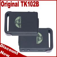 Gps Tracker Andriod 800MHZ personal pet mini real time tracker tk102B tk star gps tracker free shipping