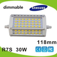 Cheap Spotlight r7s led 118mm Best SMD 30W r7s led