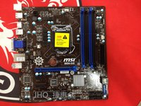 Wholesale MSI B85M E45 B85 motherboards all solid four memory slots with G3220 I3 I5 I7