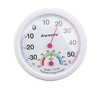 Wholesale White In out Doors Centigrade Thermometer Hygrometer NVIE