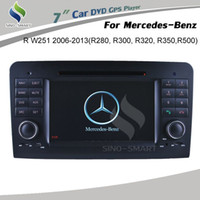 Wholesale For Mercedes Benz R W251 R280 R300 R320 R350 R500 Car DVD GPS BT TV Radio IPOD RDS CANBUS Wince ARM11