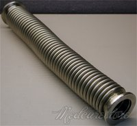 bellow hose - New Bellows Hose Metal KF Inch Tubing mm ISO KF Flange Size NW Stainless Steel
