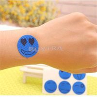 Wholesale Novetly Mosquito Repellent Stricker Smile Face Pattern Type Anti Mosquito Tools for Baby Mosquito Repellent Patch JIA237